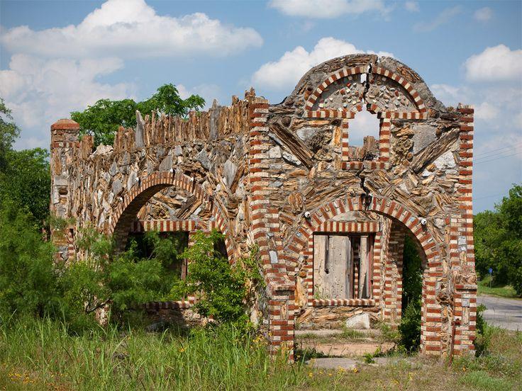 Glen Rose Texas Ruins