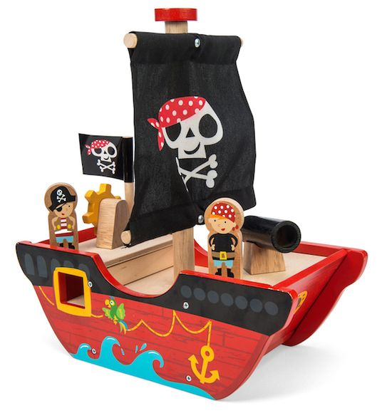 Little Captain Pirate Boat | Le Toy Van | Buy online at DirectToys NZ