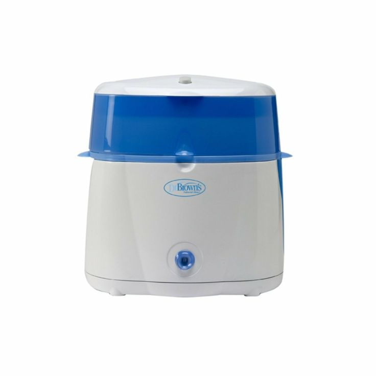 Dr Brown's Electric Steam Steriliser, Available online at (http://www.mybumpsandbabes.com/dr-browns-electric-steam-steriliser/)