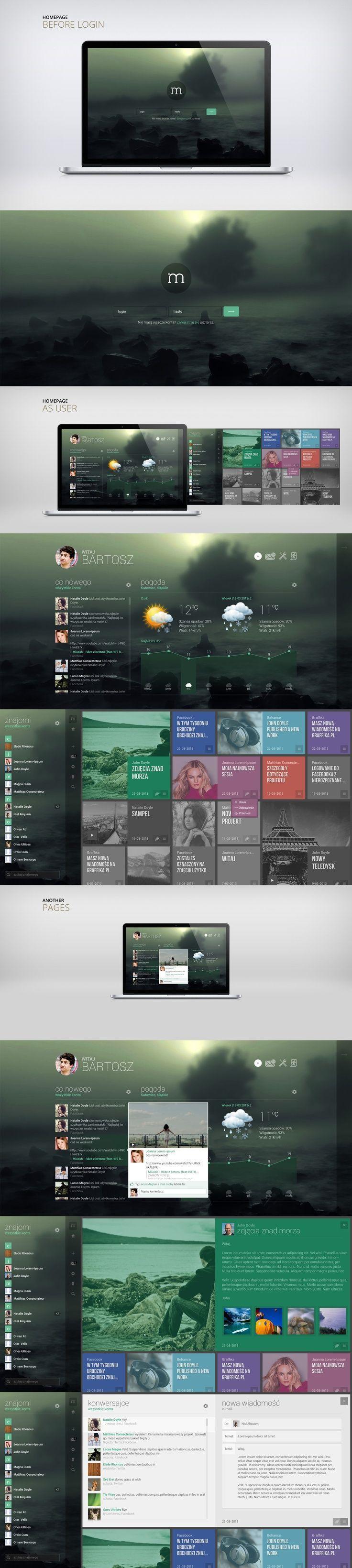 Les comparto una nueva galería de diseños de paginas web continuando con la serie que inicie meses atras y que prometi que sería mensual, hoy les comparto