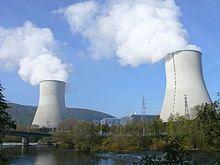 Une photographie de la Centrale nucléaire de Chooz, construite et opérée par…