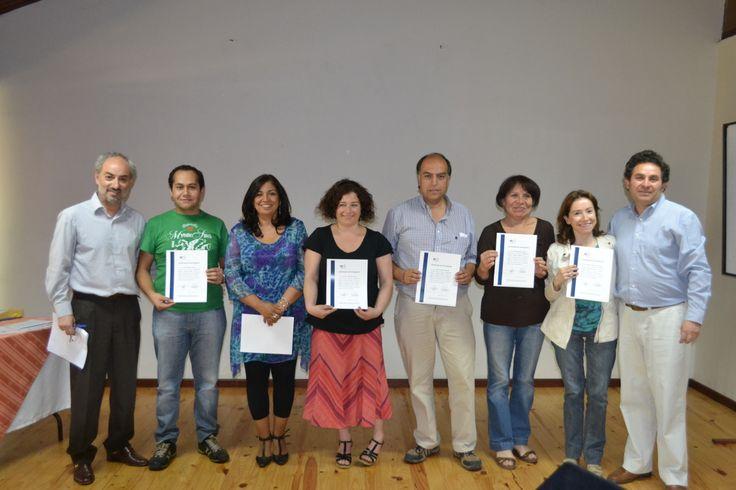 Entrega de diplomas con Raul Herrera y Carlos Corcione