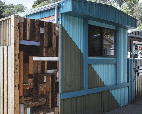 malibu mobile home remodel - exterior paint colors