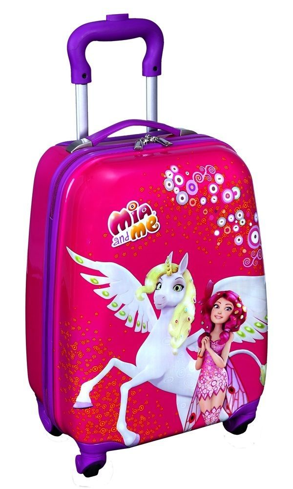 Hardcover Trolley Bag Suitcase Mia And Me Elf Amp Unicorn