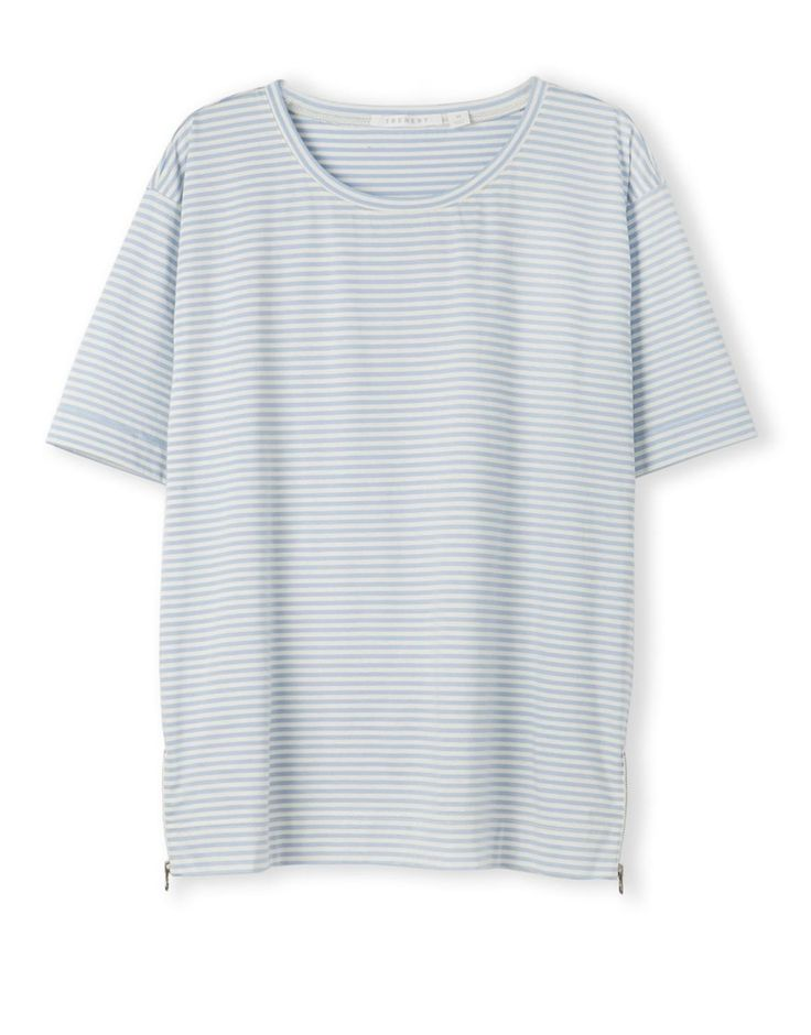 Clean Stripe T-Shirt from trenery