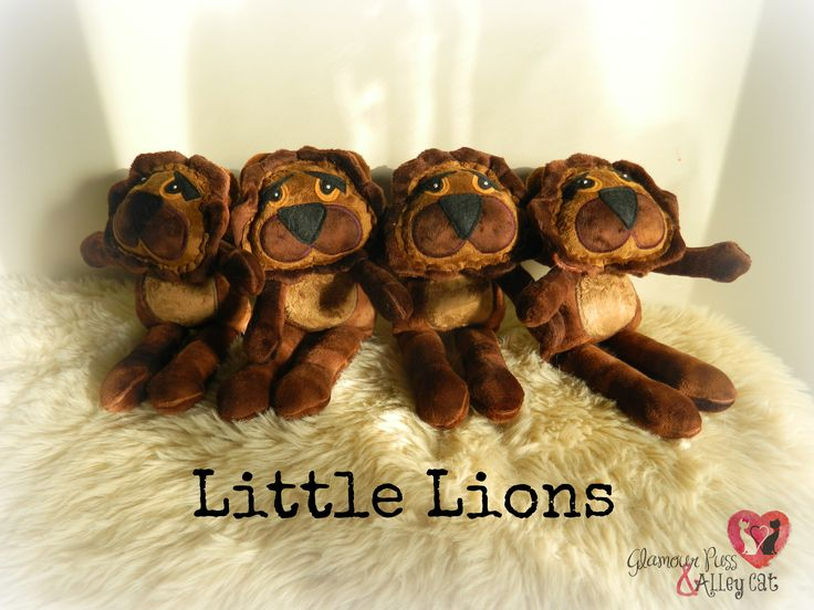 Little Lions ~ Now available thru FB page :)