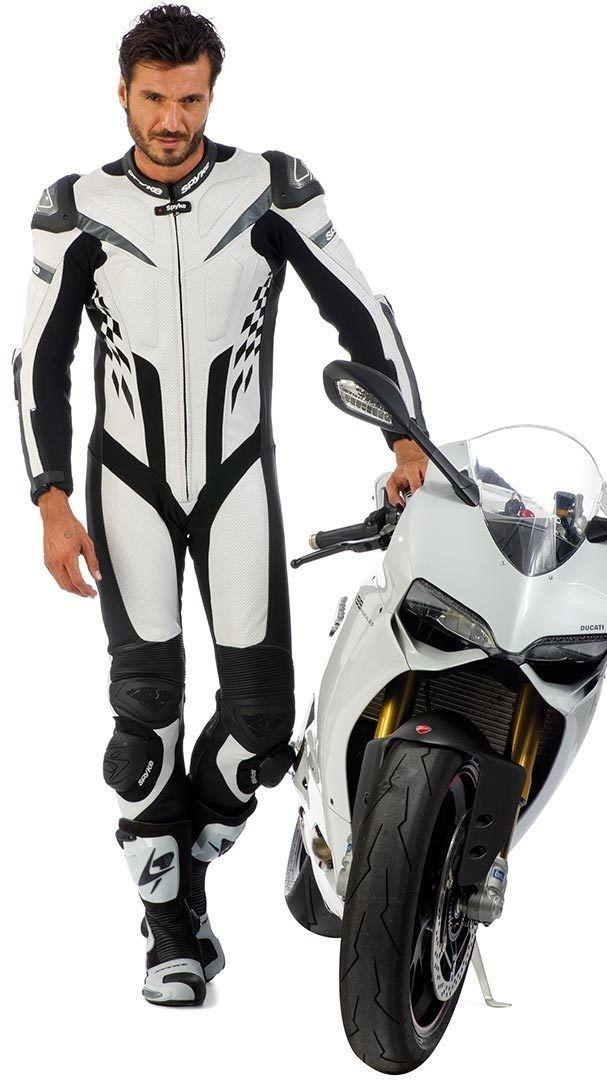 Tiendas de motos - Spyke 4RACE RAC Leather Motorcycle Suits for Men