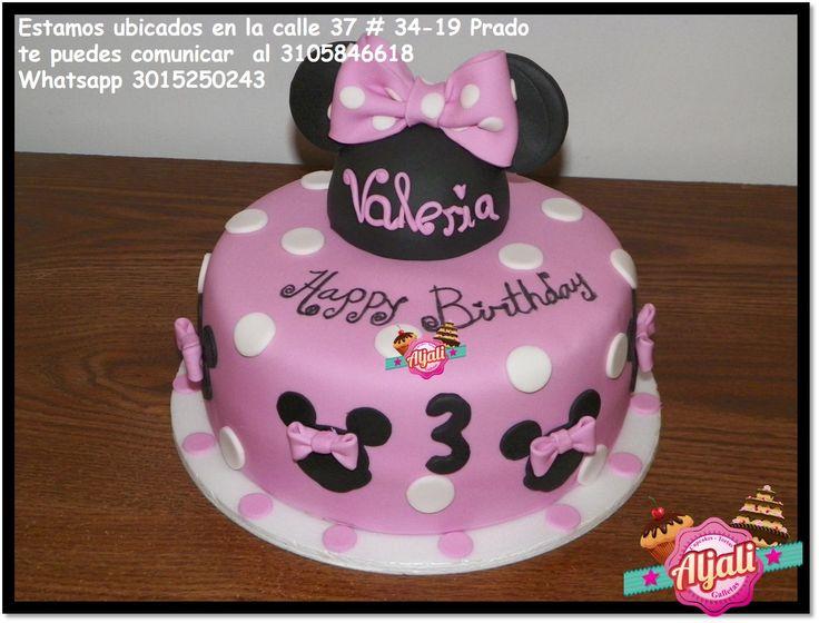 minnie mouse torta , cake deliciosa torta de vainilla arequipe