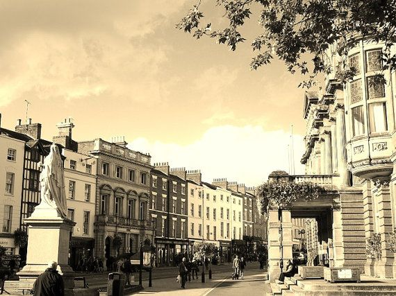 Royal Leamington Spa Town  The Parade  Warwickshire  by RusticRush