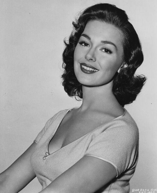 Barbara Rush.
