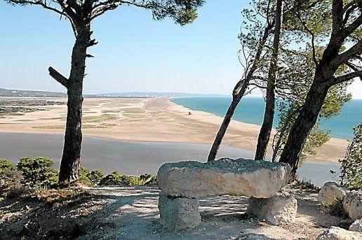 La magnifique plage des Coussoules à Leucate - La Franqui.
