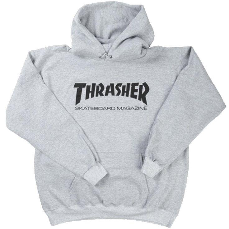 Thrasher Hoody Skate Mag Heather Grey