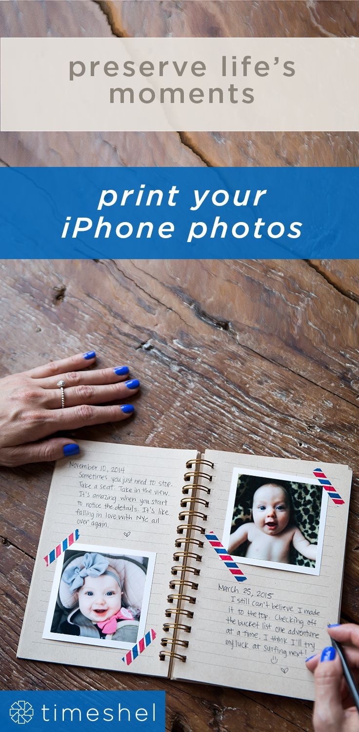 The perfect way to hold on to memories. Use the timeshel app to receive beautiful prints each month- straight from your phone to your door.