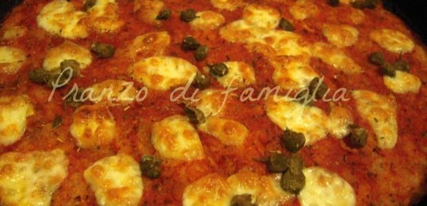 Pizza di pane raffermo - Bread's pizza