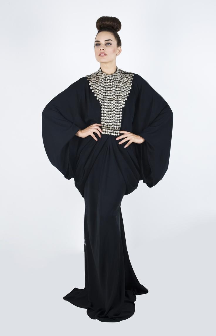 DAS Collection always has these sleek modern looking Abaya's. I love it!