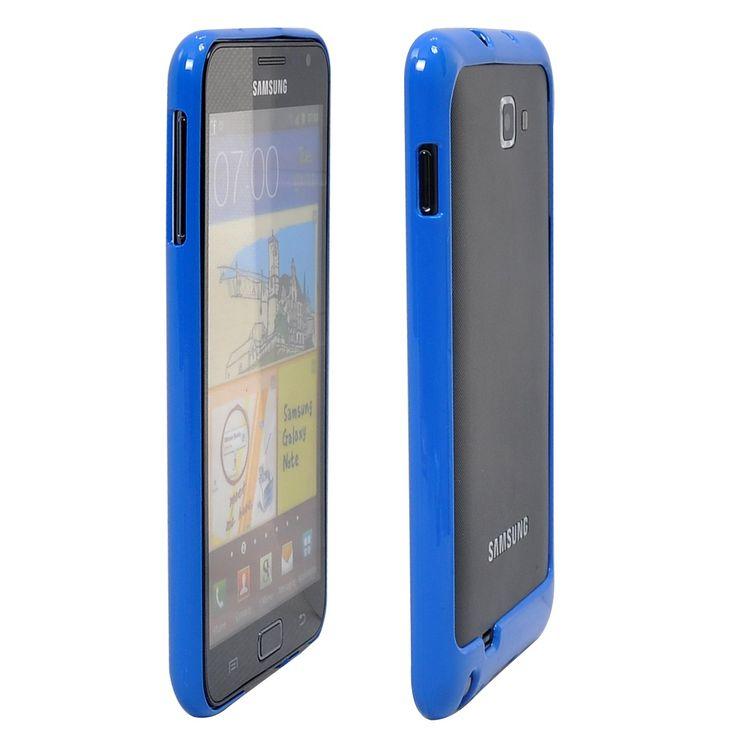 Kova Suojakehys (Sininen) Samsung Galaxy Note Bumper