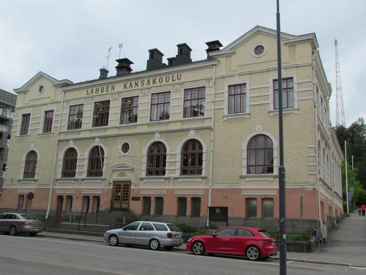 Old school in LAHTI, Finland photo by Tiina Litukka 06/14