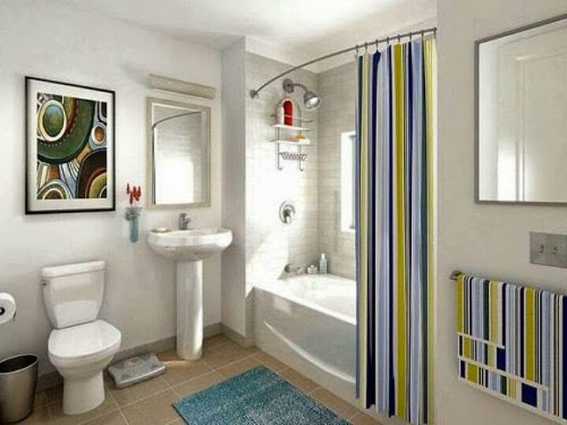 Good Preparing For Holiday House Guests: Expand Your Bathroom With A Curved  Shower Curtain Rod