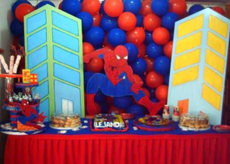 #spiderman party