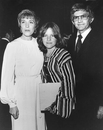 Julie Andrews with daughter Emma Walton and husband Blake Edwards