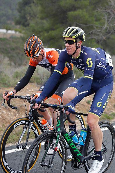 68th Volta a la Comunitat Valenciana 2017 / Stage 2 Mathew HAYMAN / Pieter WEENING / Alicante Denia / Tour of Comunidad Valenciana/ Valencia /