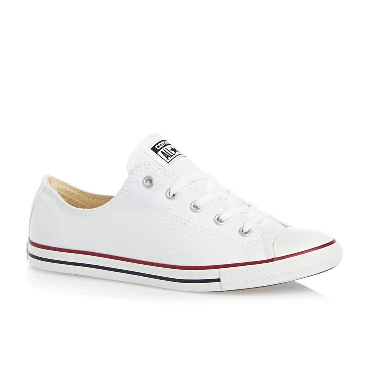 Converse Chuck Taylor All Star Dainty Shoes - White | Free Delivery