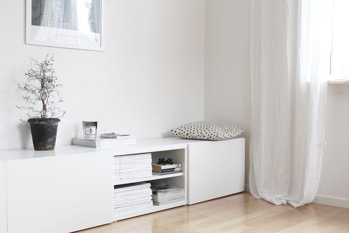 besta wohnzimmer ideen:Ikea, Minimalhaus and hintere Veranda on Pinterest