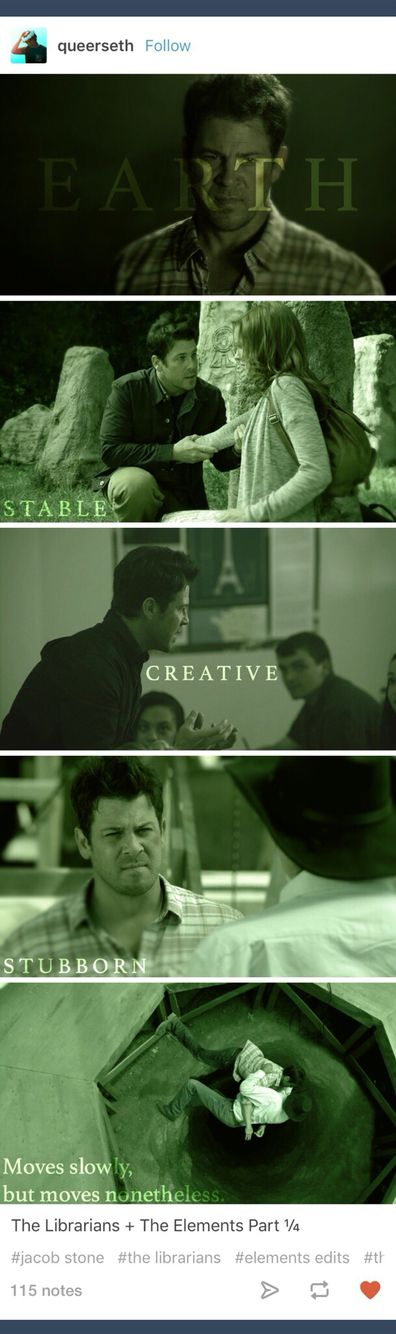 The Librarians; Jake Stone