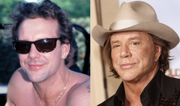 Plastic Surgery Gone Wrong - Bad Celebrity Plastic Surgery - Woman's Day Mickey Rourke