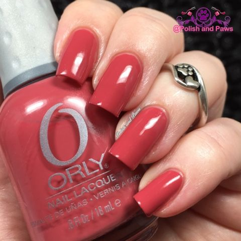 14 Days of Valentine's Day: Day 3 Orly Pink Chocolate  14 Days 14 pink polishes…