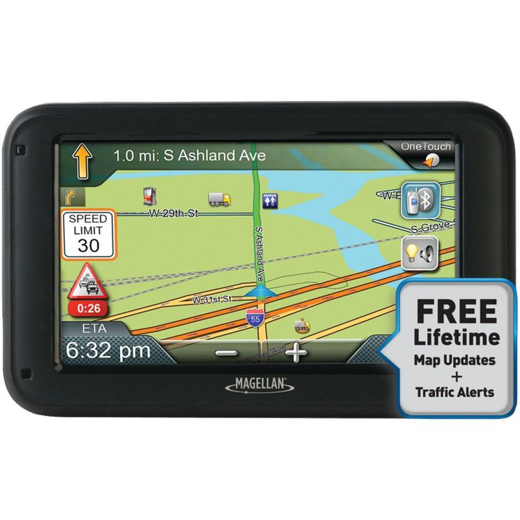 """MAGELLAN RC5370SGLUC RoadMate(R) Commercial Truck 5370T-LMB 5"""""""" GPS Device with Bluetooth(R) & Free Lifetime Maps & Traffic Updates"""