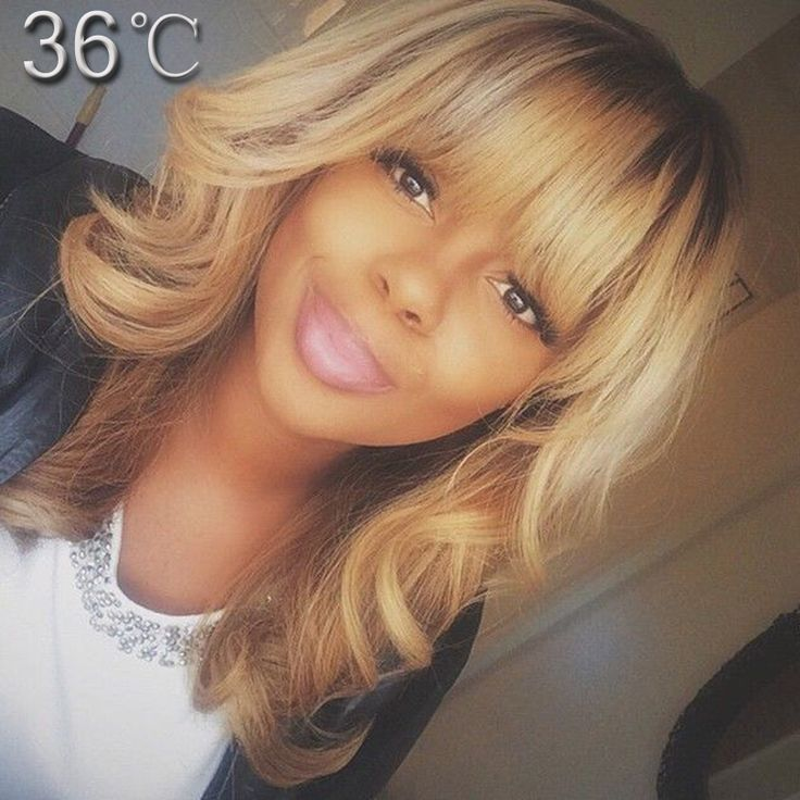 best human hair wigs with bangs ombre human hair full lace wig two tone color glueless lace front human hair wigs with full bang