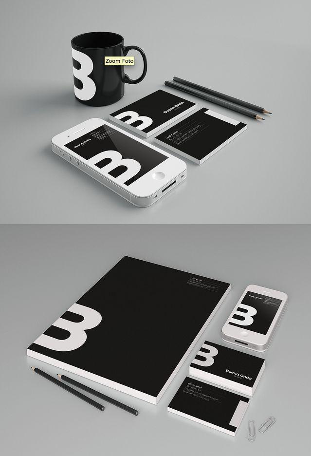 Nice brand identity presentation #branding #logo #identity #stationery #graphic…