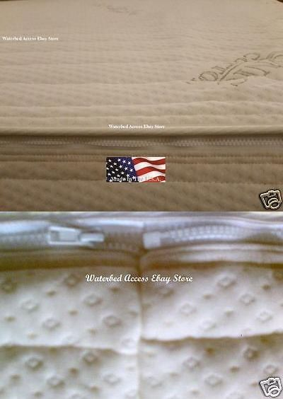 Bed And Waterbed Accessories 66737 Organic Cotton Zipper Cover For