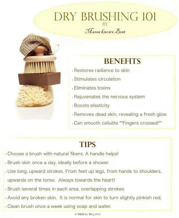 Try dry brushing, your lymphatic system will LOVE you! We sell the best dry brushing products!
