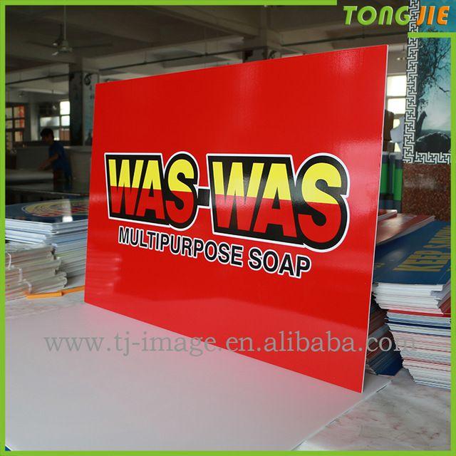 Source Custom made foam board sign advertising indoor