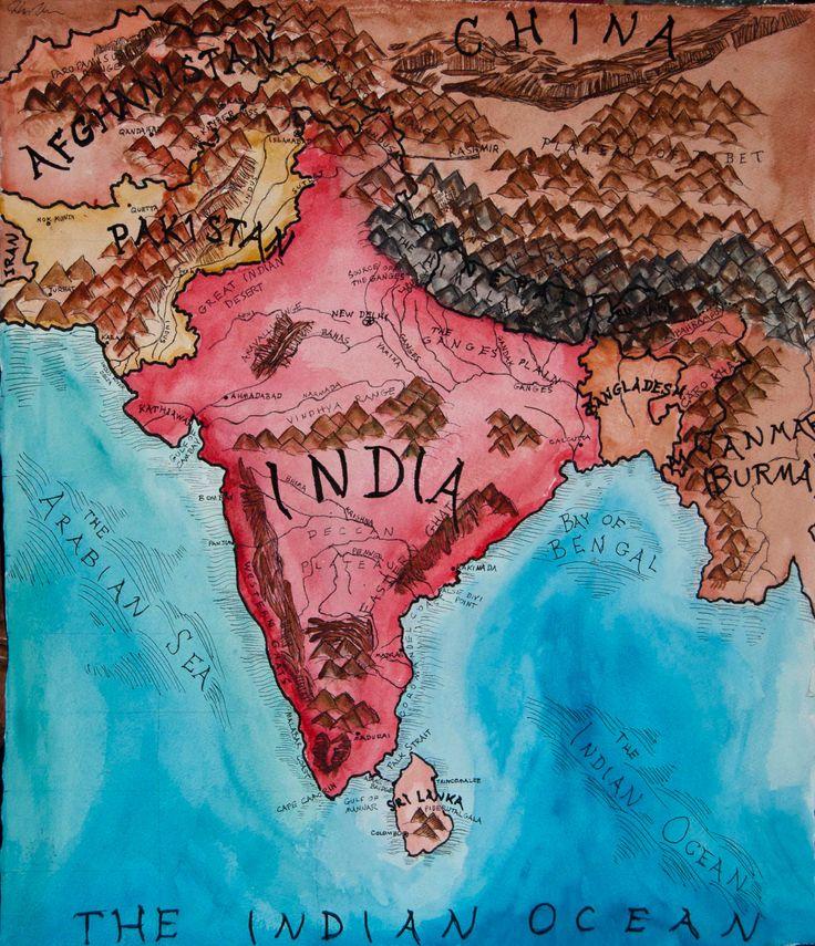 India. Vintage.