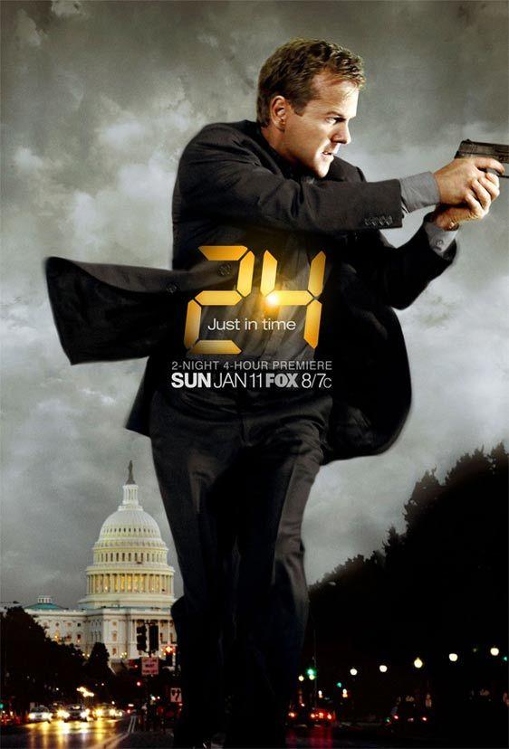 Jack Bauer - 24: Redemption poster