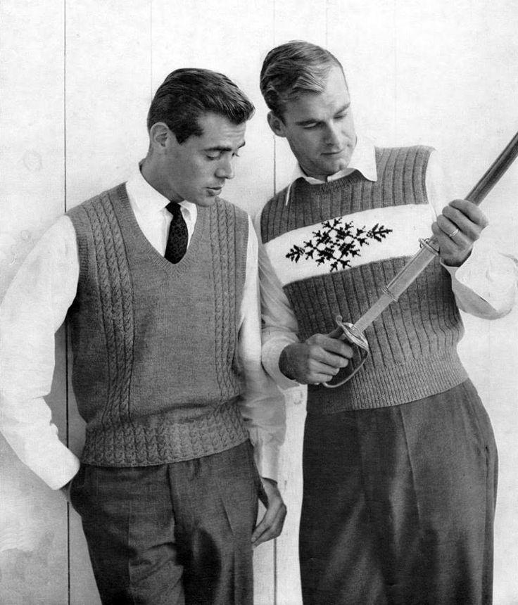 We Hype Vintage: Moda masculina dos anos 30 aos anos 60
