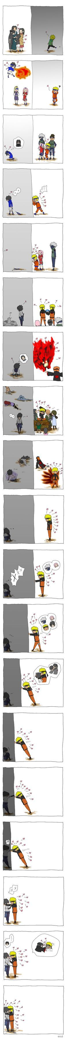 In which Naruto refuses to believe that love is a zero-sum game, and out-stubborns Sasuke