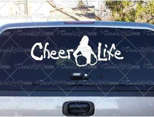 Best Life Decals Images On Pinterest Car Window Decals Life - Car window decal stickers sports