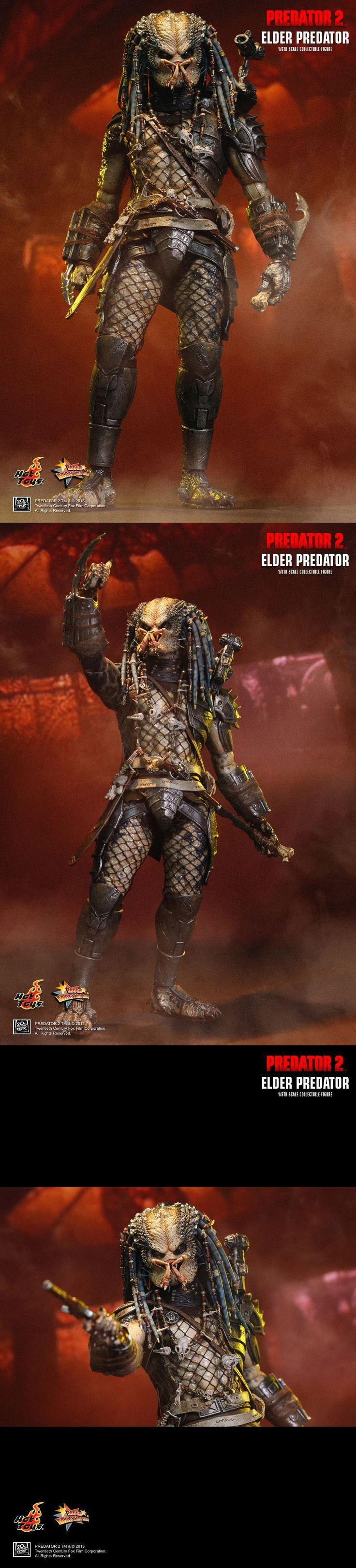 Toys And Games: Hot Toys - Predator 2 Elder Predator 2.0 - 1:6 Figure - Sealed In Brown Box BUY IT NOW ONLY: $244.97