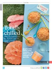 Check out this recipe for Melon crushes from Co-op Food magazine May/June 2016