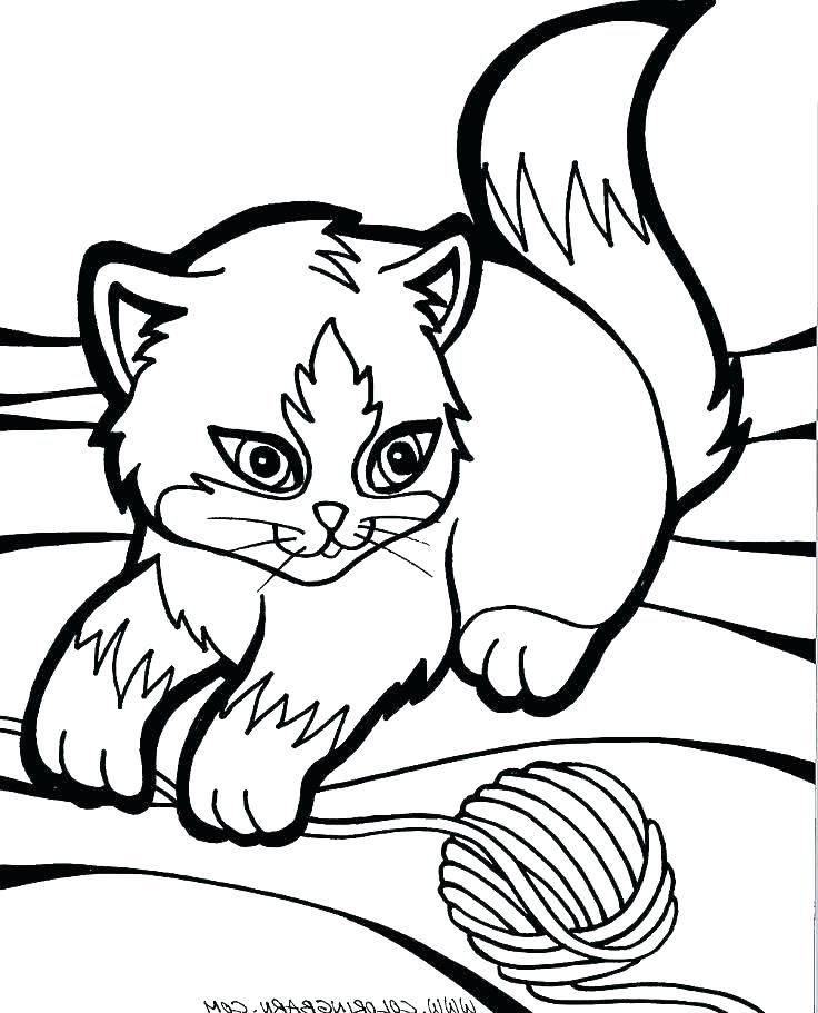 Cute Kitten Coloring Pages Idea Free Coloring Sheets Puppy Coloring Pages Dog Coloring Page Cat Coloring Book