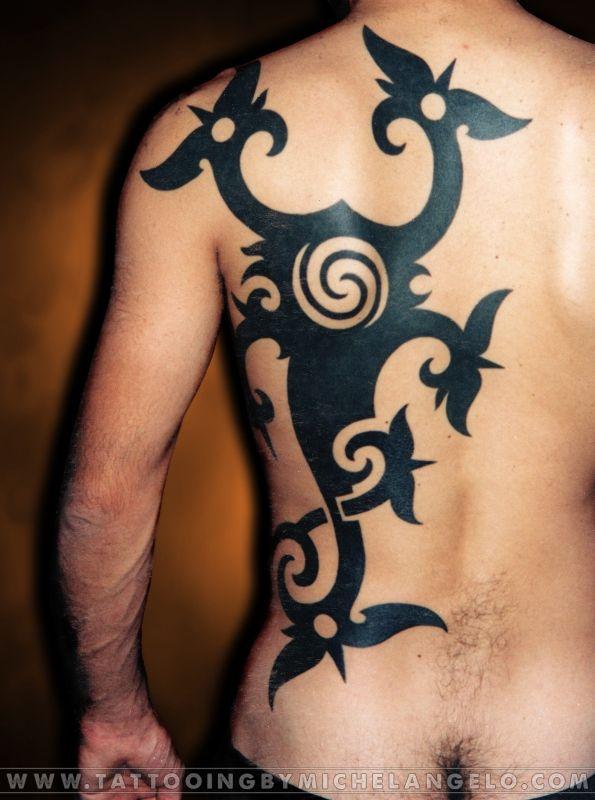 Scorpione Iban   Borneo   stile borneo blackwork    Tattoo by Michelangelo   Iban Scorpion tattoo
