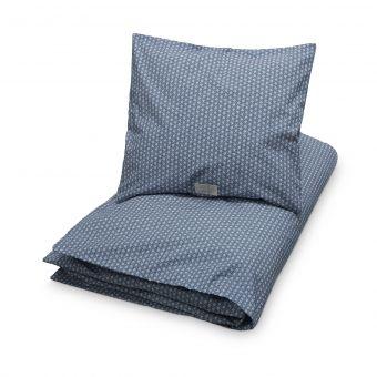 Cam Cam sengetøj, sashiko blue