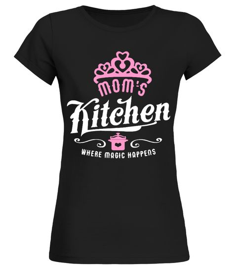 # Moms Kitchen Where Magic Happens .  Limited Time Only - Ending Soon!Guaranteed safe and secure checkout via:PAYPAL   VISA   MASTERCARD   AMEX   DISCOVEREXTRA DISCOUNT :Order2 or moreandsave lots of moneyon shipping!Make a perfect gift for your friends or any oneBe  sure to order before we run out of time!Tags: funny  mother's day t shirts personalized mother's day t shirts mother's day t shirt  designs mother's day t shirts wholesale  mother shirts mothers shirts personalized shirts…