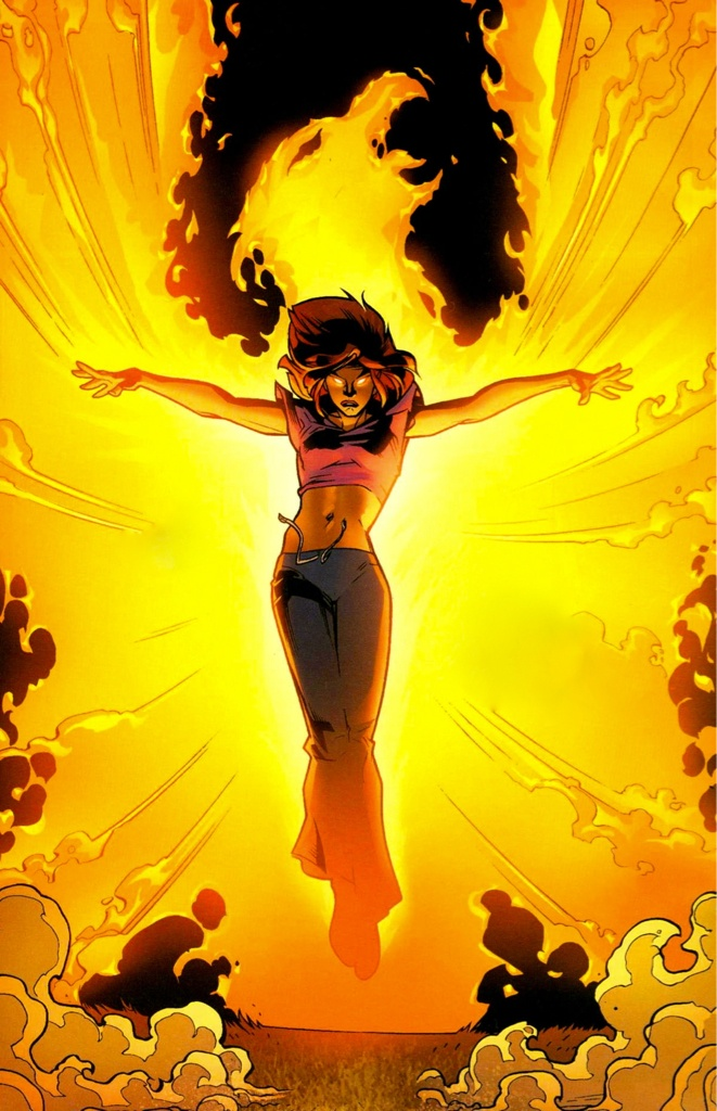 Ultimate X-Men #56 p.13 - Jean Grey by Stuart Immonen