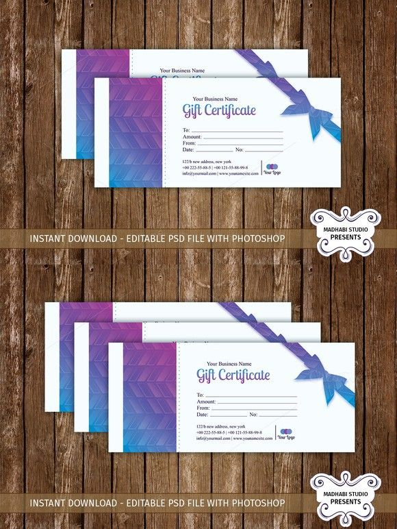 11 best photography voucher images on pinterest gift gift certificate template yelopaper Images