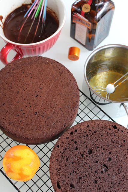 Basic recipe for creative cakes: Victoria Sponge Cake, butter cream, syrup and ganache